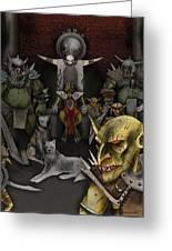 Kobold Throne Room Greeting Card
