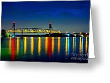 Kodachrome Bridge Greeting Card
