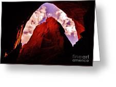 Kodachrome Cave Greeting Card
