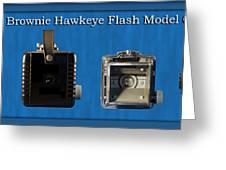 Kodak Brownie Hawkeye Camera Greeting Card