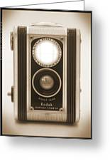 Kodak Duaflex Camera Greeting Card