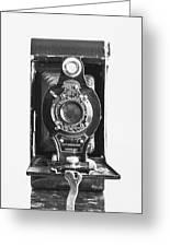 Kodak No. 2 Folding Autographic Brownie Camera Greeting Card