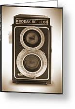 Kodak Reflex Camera Greeting Card by Mike McGlothlen