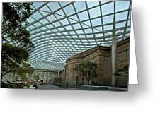 Kogod Courtyard #2 Greeting Card