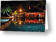 Koh Samui Beach Resort Greeting Card