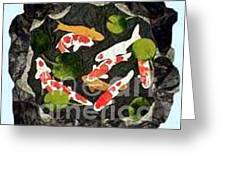 Koi Fest Greeting Card