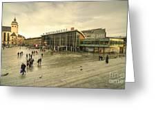 Koln Hauptbahnhof  Greeting Card