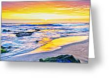 Kona Coast Sunset Greeting Card
