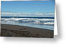 Kona Shoreline 1 Greeting Card