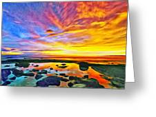 Kona Tidepool Reflections Greeting Card