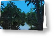 Kona Village Hi Greeting Card