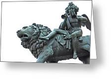 Konzerthaus Berlin - Lion Sculpture  Greeting Card