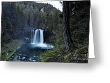 Koosah Falls No. 1 Greeting Card