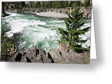 Kootenai Falls Greeting Card