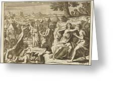 Korah, Dathan And Abiram Rebel Greeting Card