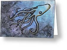 Kraken Greeting Card