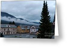 Kranjska Gora - Autumnal Evening Greeting Card