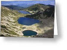 Kremenski Lakes Pirin National Park Bulgaria  Greeting Card