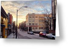 Kress Bldg. 6 Greeting Card by Mark Block