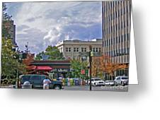 Kress Building Asheville Greeting Card