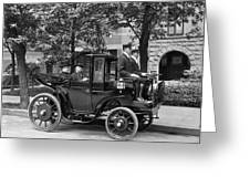 Krieger Electric Carriage Greeting Card