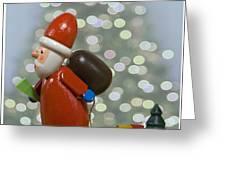 Kris Kringle Greeting Card by Juli Scalzi