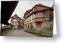 Kronach Franconia 2 Greeting Card