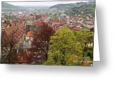 Kronach Franconia 4 Greeting Card