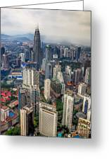 Kuala Lumpur City Greeting Card
