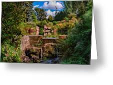 Kubota Garden Pond Greeting Card