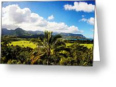 Kuhio Hwy Outlook Greeting Card