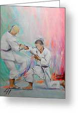 Kumite Greeting Card