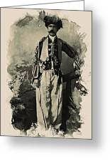 Kurdish Tribal Leader Greeting Card