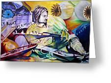 Kurt Cobain- It Aint Medicine Kurt Greeting Card