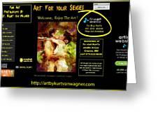 Kurt Van Wagner Website Greeting Card