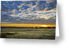 Kyle Barn Sunrise Greeting Card
