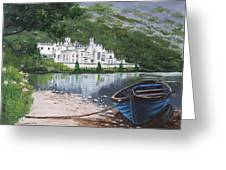 Kylemore Abbey Greeting Card
