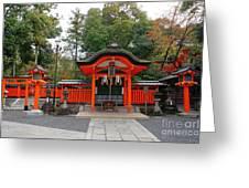 Kyoto Fushimi Shrine-1 Greeting Card