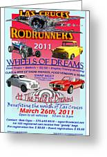 L C Rodrunner Car Show Poster Greeting Card