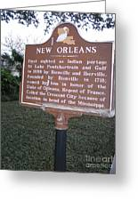 La-002 New Orleans Greeting Card
