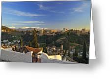 La Alhambra Granada Spain Greeting Card