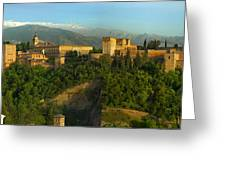 La Alhambra Palace Greeting Card