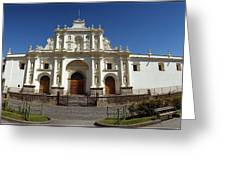 La Antigua Cathedral Greeting Card