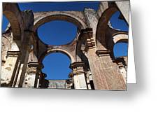 La Antigue Cathedral Ruin Greeting Card