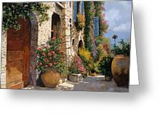 La Bella Strada Greeting Card