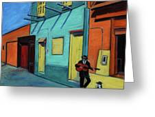 La Boca Morning II Greeting Card