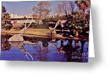 La Brea Tar Pits  Greeting Card