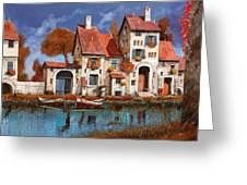 La Cascina Sul Lago Greeting Card