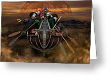 La Chasse-galerie 4 Greeting Card