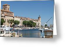 La Ciotat Harbor Greeting Card